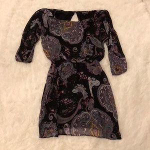 Express Paisley dress